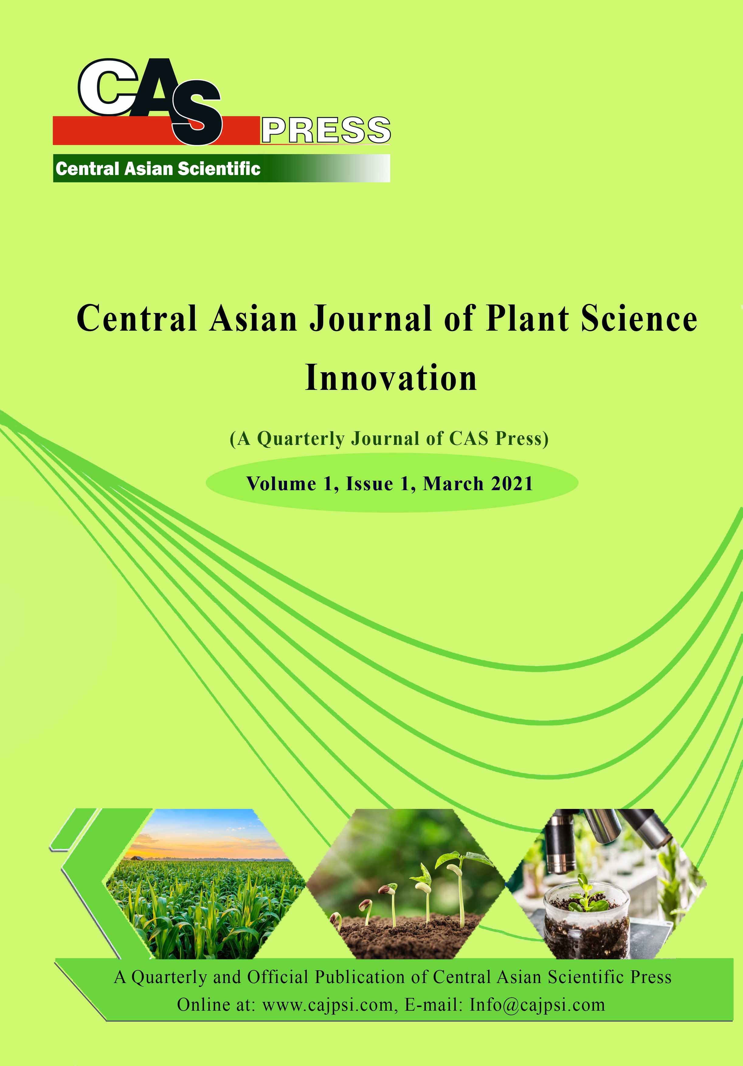 Central Asian Journal of Plant Science Innovation